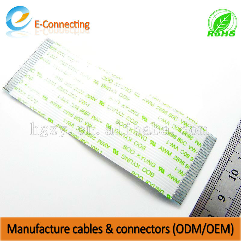 Wholesale customized FFC Wire cable & mobile phone/android phone & galaxy s3 tv out cable
