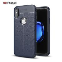 OEM available high quality flexible soft leather phone case for iphone X 5.8 inch