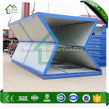 China prefabricated houses folding portable prefab folding cabins office