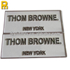 Durable use brass engraved labels stickers