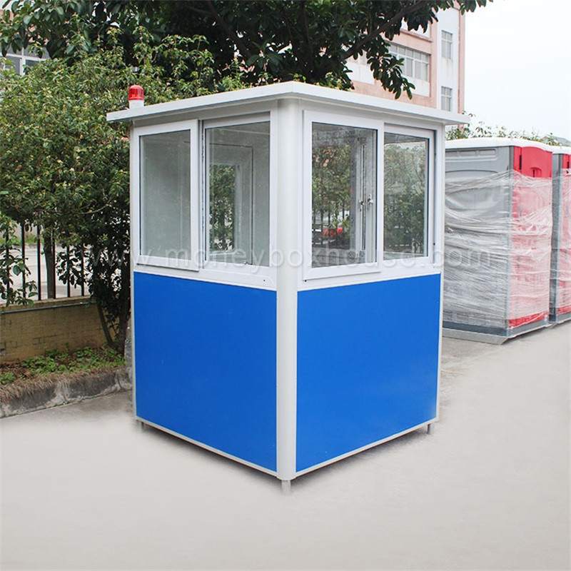 Made in China cheap mobile prefabricated guard house portable sentry box for sale