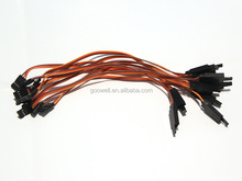 22AWG Servo extension receiver cable wire factory with hook 300mm