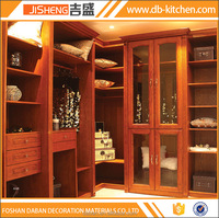 Living room solid wood classical wardrobe design