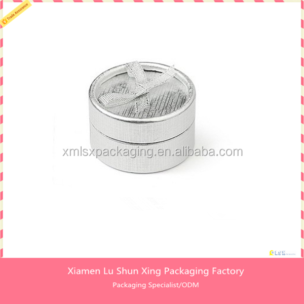 charming customized Top designs ball shape ring box