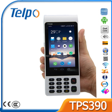New Design Telpo TPS390 porTable Data collectors Touch cash register monitor erc keyboard