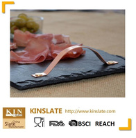 new design slate serving tray with handle