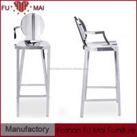 comfortable high seating italian bar stool cheap stainless steel bar stool