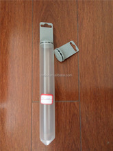 clear solid plastic tube 32*250MM