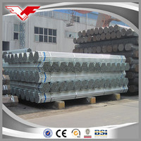 buildings materials from pre galvanized steel pipe