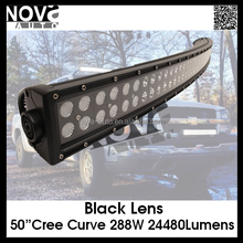 "288W 50"" C ree off road heavy duty, factory,suv military,agricultu0,marine,mining work light led working light bar"