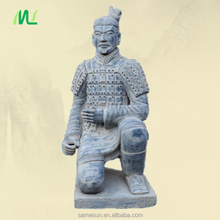 Kneeling Archer Terracotta Warrior Replica for Garden Decoration