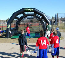 2015 Hot sale baseball Inflatable batting cage