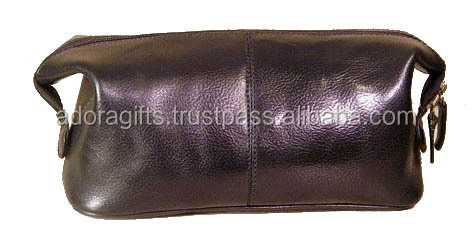 Cosmetic Cases / nice quality mini makeup bags / genuine leather bags for makeup