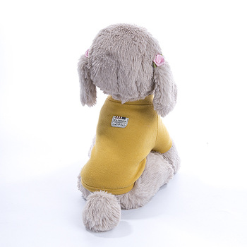 2019 best selling latest design cute soft wear pet dogs clothes with fast delivery