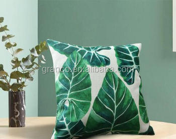 MOQ 1 china wholesale square digital printed pads pillow cushion