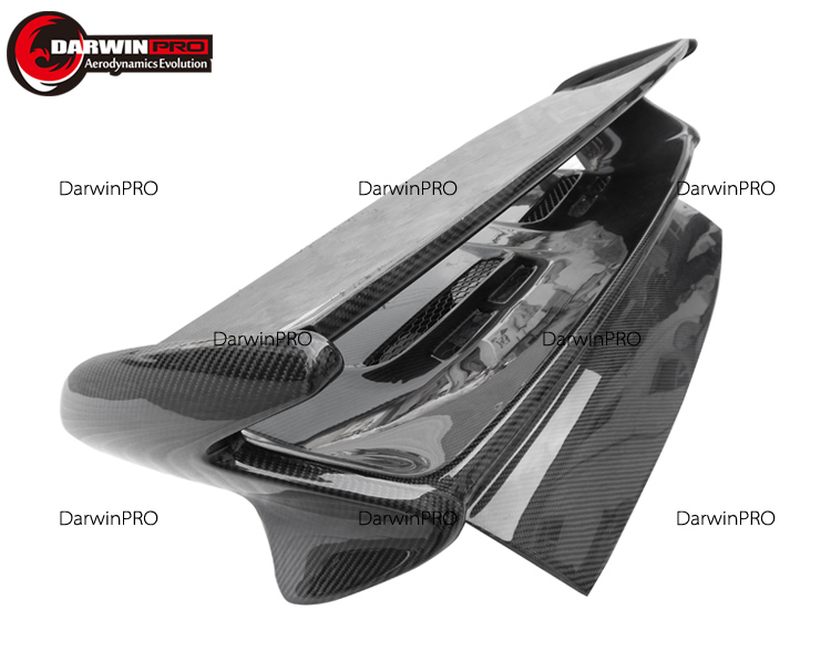 Carbon Fiber Manufacturer Trunk spoiler wings GT3 style for 05-11 porsche Carrera 911 997 Rear Spoiler GT Wing