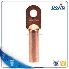 DT series Non-insulated Copper Cable Terminal/Copper Cable Lug size
