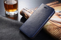 Fashion Luxury Genuine Leather Case For iPhone 6 6Plus Flip Wallet Cover With Card Slots A1