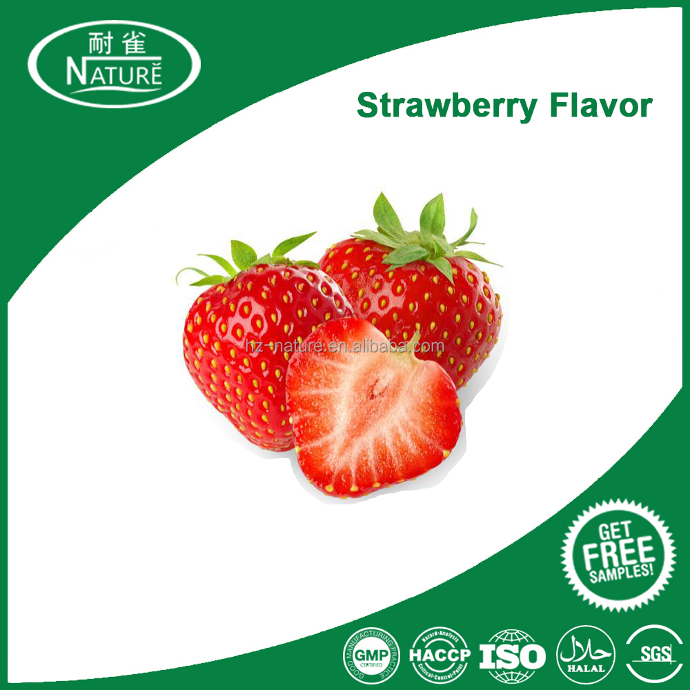 High concentration e liquid strawberry flavour for tobacco and e juice