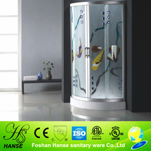 HS-SR866 1 piece shower enclosure,hot shower room with tray