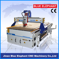 China supply 1325 multi spindle atc woodworking cnc router / cnc wood carving machine for mdf , furniture