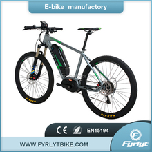 pedals assist ebike 250w 36v bafang center drive motor electric bicycle with bafang mid drive system