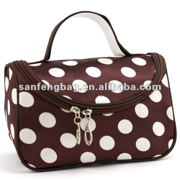 Polka Dots Beauty Case Customized toiletry bag