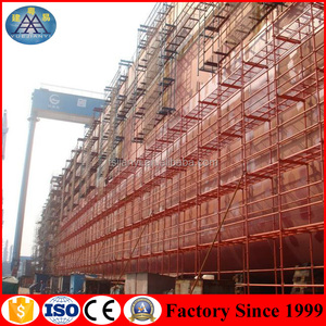 Building Construction layher scaffolding steel material specifications