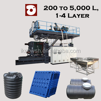 plastic septic tank machine