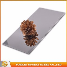 201 no 8 mirror finish stainless steel sheet