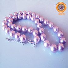 wholesale custom beautiful shell pearl necklace hyderabad