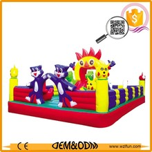 2018 high quality New Bouncy Castles /inflatable castle slide and jump for kids and hire baby