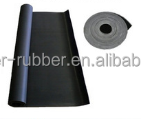 good resistant acid black Viton/FKM gasket rubber sheet