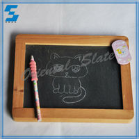 new wooden blackboard/ chalkboard with stand
