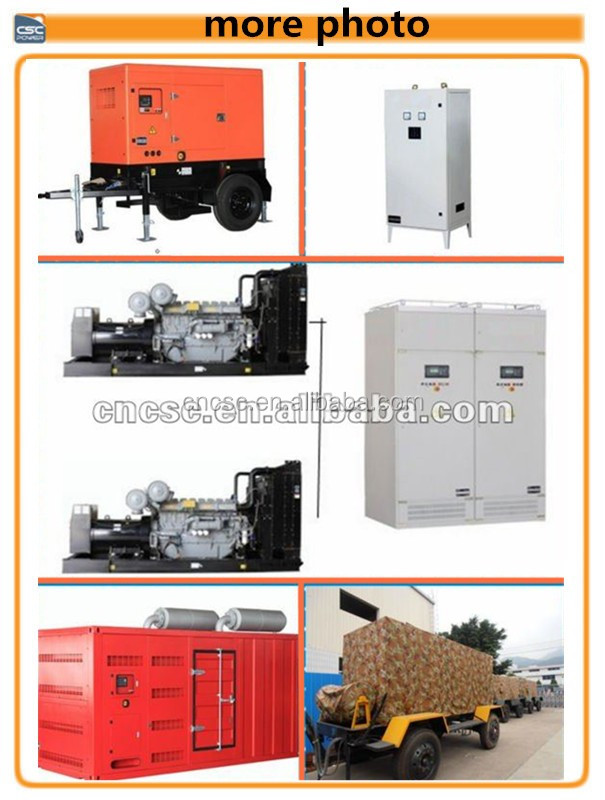 600kva/480kw generator diesel with cummins engine generator