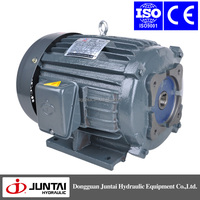 SINGLE/THREE phase AC 2.2kw 3HP-4P-30L electrical motors for hydraulic machine