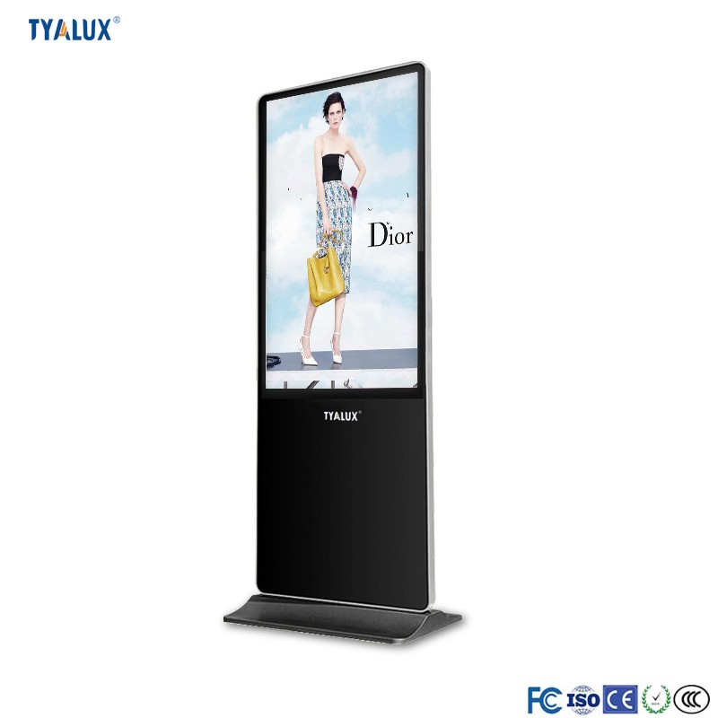 Indoor High Definition Full Hd 1080P Tft Floor Standing LCD Advertising Player