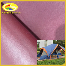 150D polyester oxford PU coated fabric, outdoor fabric with 1000-20000 mm water repellent for outdoor tent