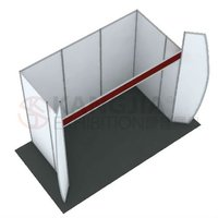 aluminum extrusion standard trade show booth