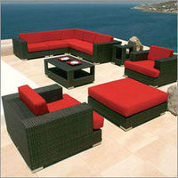 593 PE Rattan Outdoor Stackable Pe