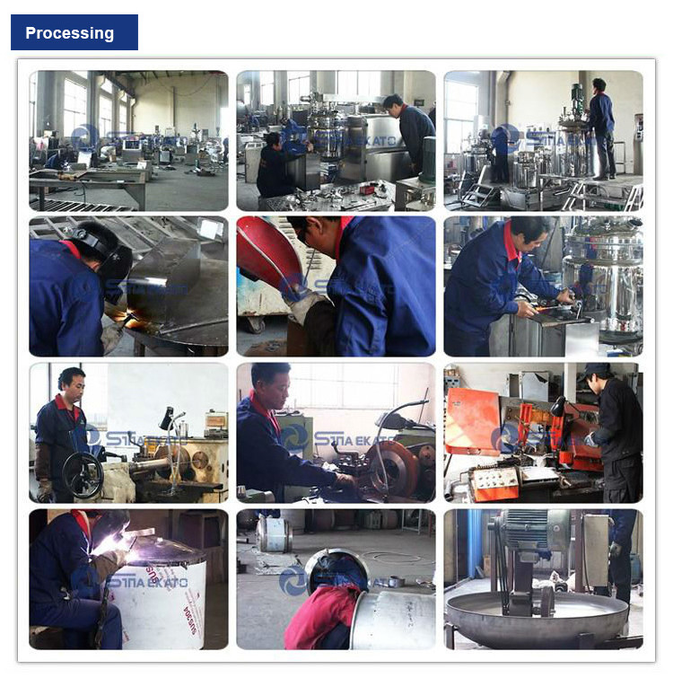 SME-B 500L Custom Chemical Product Machinery Equipment Vacuum Emulsifying Mixer Vacuum Blender Mixer