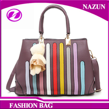 2016 custom-made winter fancy mini purple PU leather colorful medium size fashion handle bags women bags 2016 trend ladies