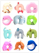 soft microbeads filled animal design baby neck pillow