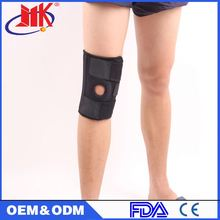 2016 Breathable leg long sleeve nylon knee support brace with low price