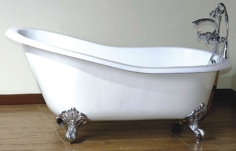 Hot sale slipper bath tub cheap used cast iron bathtub for for Bathroom baths for sale