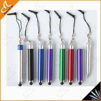 New design stylus ballpoint pen mini touch pen