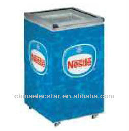 Top Open Freezer/ Ice Cream Display Freezer/ glass door freezer