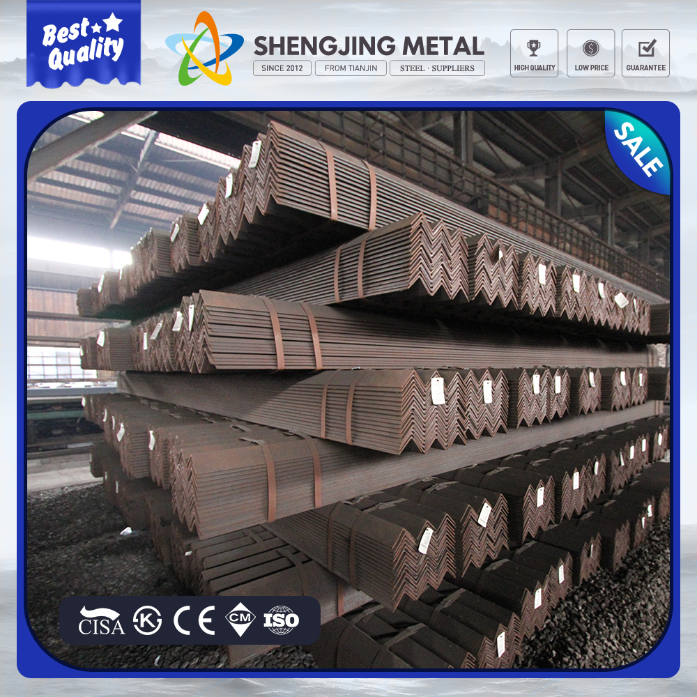 Building material aisi 304 100*6~100*16 equal stainless steel angle