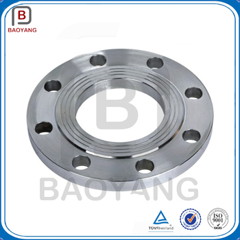 large caliber stainless steel threaded flange