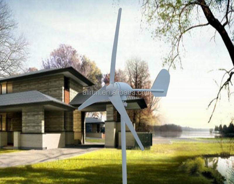 0.5kw 1KW 2KW 3KW roof mounted wind turbine for house use Off-grid system, free energy new power for household appliances
